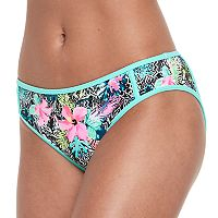 Mix and Match Tropical Floral Bikini Bottoms