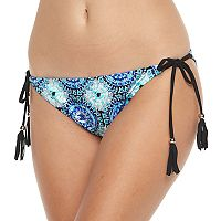 Mix and Match Medallion Foiled Bikini Bottoms