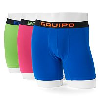 Men's equipo 3-pack Stretch Boxer Briefs