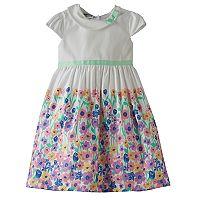Girls 4-6x Blueberi Boulevard Floral Print Dress