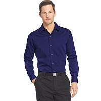 Van Heusen Classic-Fit Striped Sateen Men's Shirt