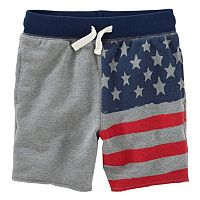 Toddler Boy OshKosh B'gosh® American Flag Shorts