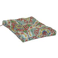 SONOMA Goods for Life™ Multi Medallion Indoor Outdoor Reversible Chair Pad