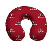San Francisco 49ers Memory Foam Travel Pillow