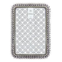 Luxe Collection Light Gray Jeweled 4