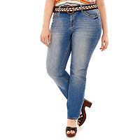 Juniors' Plus Size Wallflower Legendary Bootcut Jeans