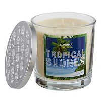 SONOMA Goods for Life™ Tropical Shores 14-oz. Candle Jar