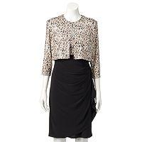 Women's MSK Foiled Dress & Jacket Set