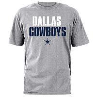 Men's Dallas Cowboys Stencil Stack Tee
