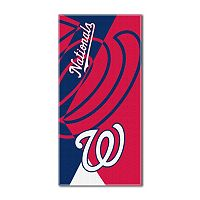 Washington Nationals Puzzle Oversize Beach Towel by Northwest