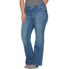 Plus Size Apt. 9® Embellished Bootcut Jeans