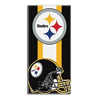 Pittsburgh Steelers Zone Beach Towel