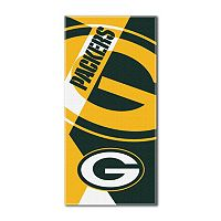 Green Bay Packers Puzzle Oversize Beach Towel by Northwest