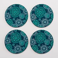 Food Network™ 4-pc. Medallion Coaster Set