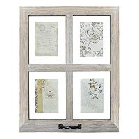 Belle Maison 4-Opening Window Pane Floating Collage Frame