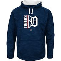 Men's Majestic Detroit Tigers On Field Team Icon Hoodie