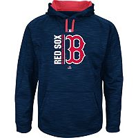 Men's Majestic Boston Red Sox On Field Team Icon Hoodie