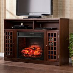 Narita Infrared Electric Fireplace TV Stand  by