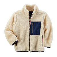 Boys 4-8 Carter's Sherpa Fleece Jacket