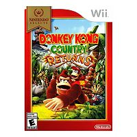 Donkey Kong Country Returns for Wii