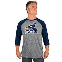 Men's Majestic Chicago White Sox Cooperstown Raglan Tee