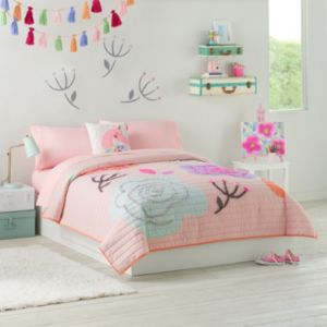 Jumping Beans Bloom Quilt Set