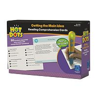 Educational Insights Hot Dots Reading Comprehension Card Set - Getting The Main Idea Card