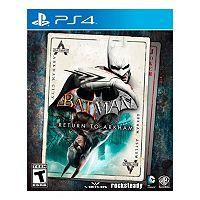 Batman: Return To Arkham for PS4