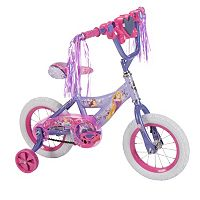 Disney Princess 12-Inch Tire Magic Mirror Bike with Training Wheels by Huffy