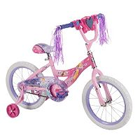 Disney Princess 16-Inch Tire Magic Mirror Bike with Training Wheels by Huffy