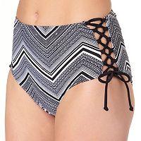 In Mocean Neo Tribe High-Waist Bikini Bottoms