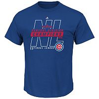 Men's Majestic Chicago Cubs 2016 NL Central Division Champions We Play Tee
