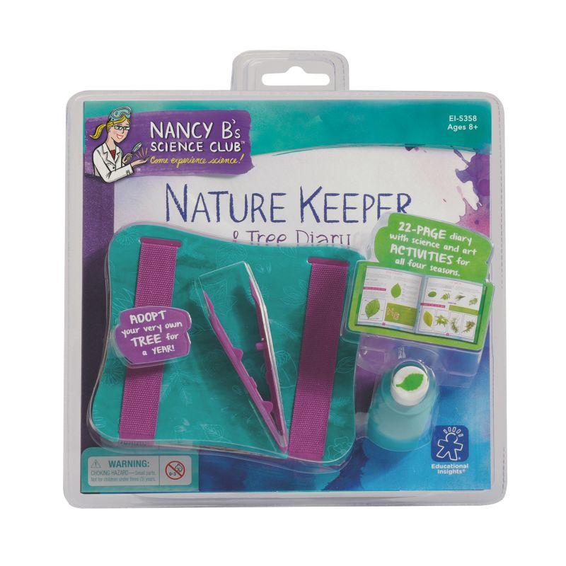 Educational Insights Nancy B's Science Club Nature Keeper & Tree Diary, Multicolor thumbnail