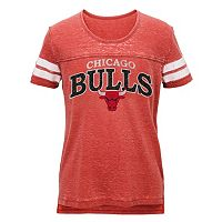 Juniors' Chicago Bulls Throwback Tee