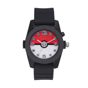 Pokémon Kids' Pokéball Light-Up Watch