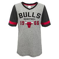 Juniors' Chicago Bulls Burnout Tee