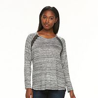 Women's Alex & Parker Lace-Trim V-Neck Top