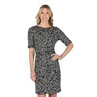 Women's Larry Levine Splatter Sheath Dress