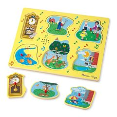 Melissa & Doug Nursery Rhymes 1 Sound Puzzle by