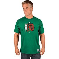 Men's Majestic Detroit Tigers AC Team Icon Celtic Tee
