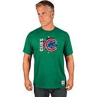 Men's Majestic Chicago Cubs AC Team Icon Celtic Tee