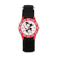 Disney's Tsum Tsum Mickey & Minnie Mouse Kids' Time Teacher Watch