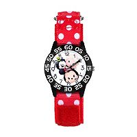 Disney's Tsum Tsum Minnie Mouse, Goofy & Elsa Kids' Time Teacher Watch