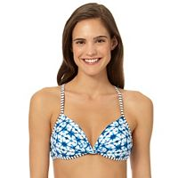 In Mocean Brainwaves Push Up Bikini Top