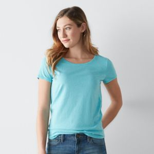 Women's SONOMA Goods for Life™ Essential Marled Tee