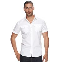 Men's Apt. 9® Premier Flex Slim-Fit Stretch Poplin Button-Down Shirt