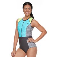 Women's ZeroXposur Colorblock One-Piece Paddle Suit