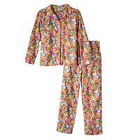 Girls 4-12 Shopkins All-Over Print Pajama Set