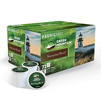72-Pack Keurig Green Mountain K-Cup Pods for Keurig K-Cup Brewers (Nantucket Blend)