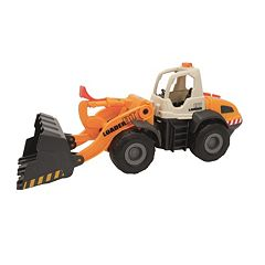 Dickie Toys Light & Sound Construction Front Loader Vehicle